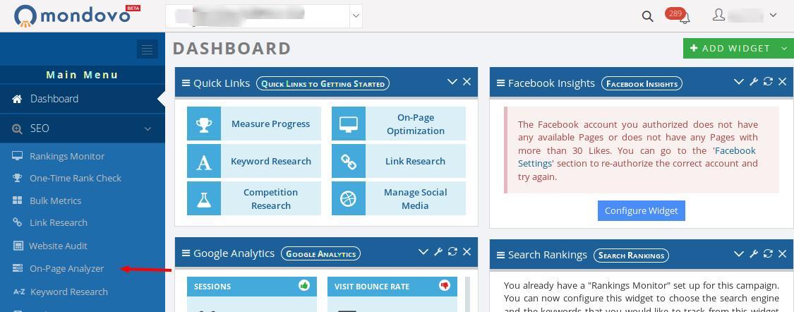 On-page-analyzer-dashboard