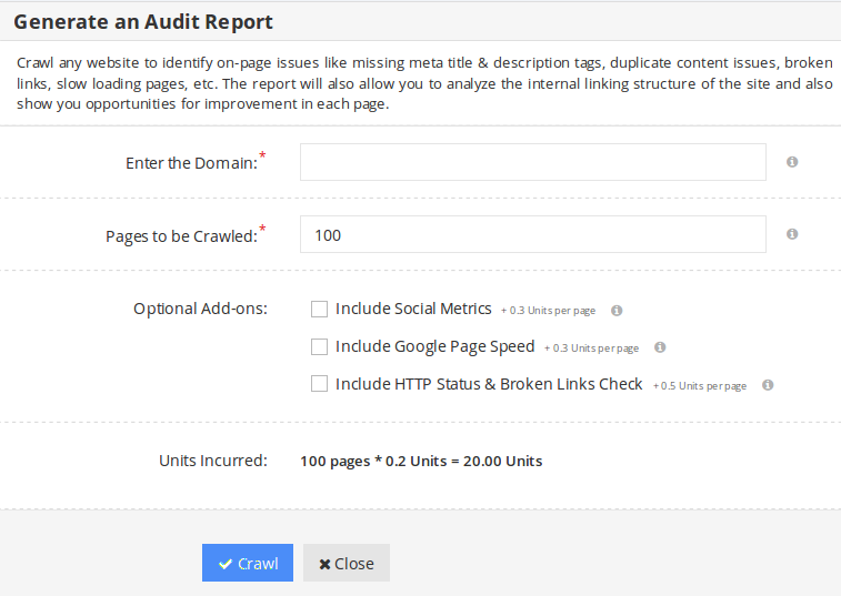 website-audit-form