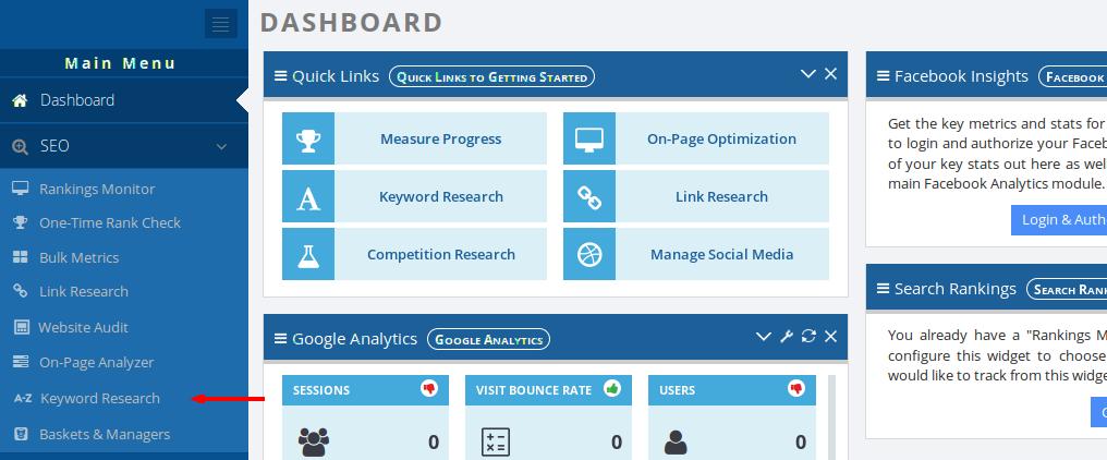 keyword-research-dashboard