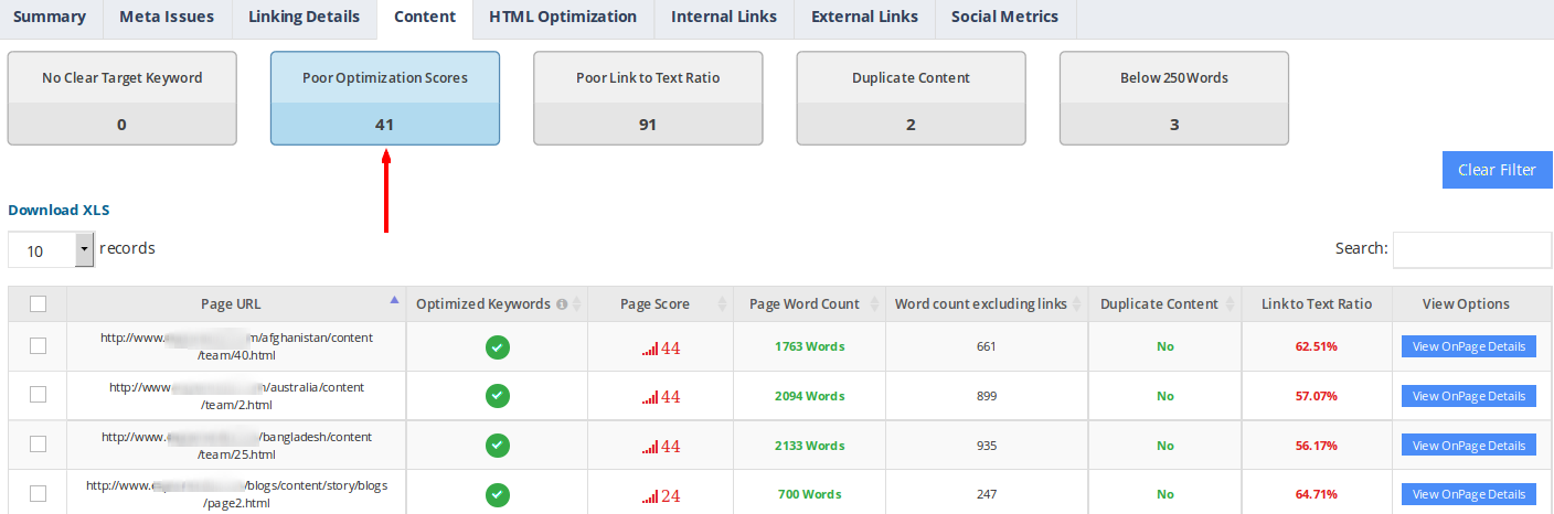website-audit-content-optimization-score