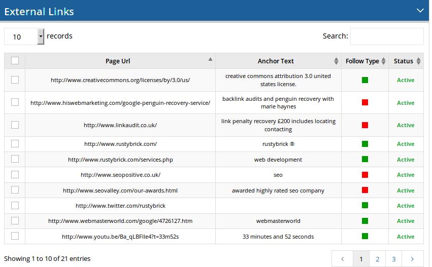 On-page-analyzer-external-links