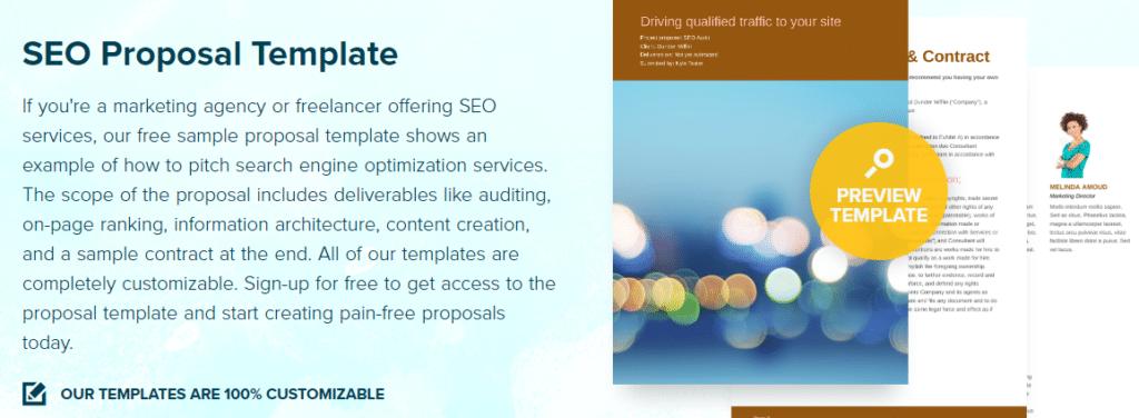 10 Sample SEO Proposal Templates SEO Sales Pitch Decks That Convert – Sample Contract Proposal Template