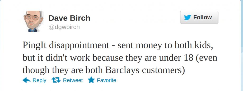 Barclays Pingit
