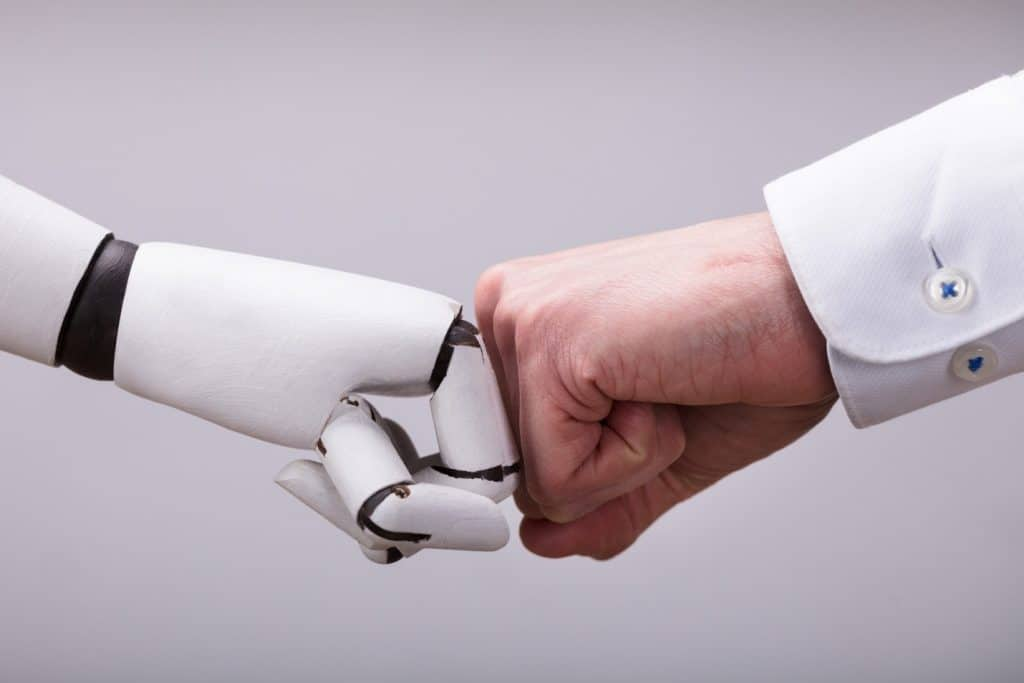 Content with Help of Robots