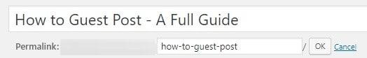 Shorter URL