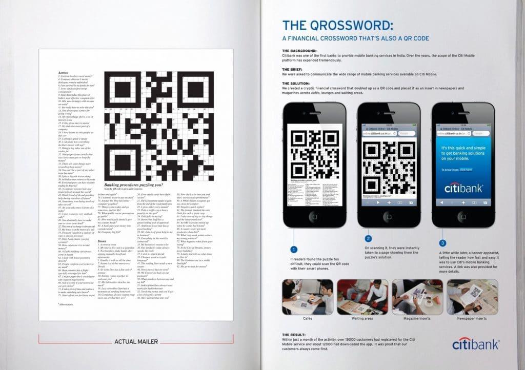 Crossword QR Code