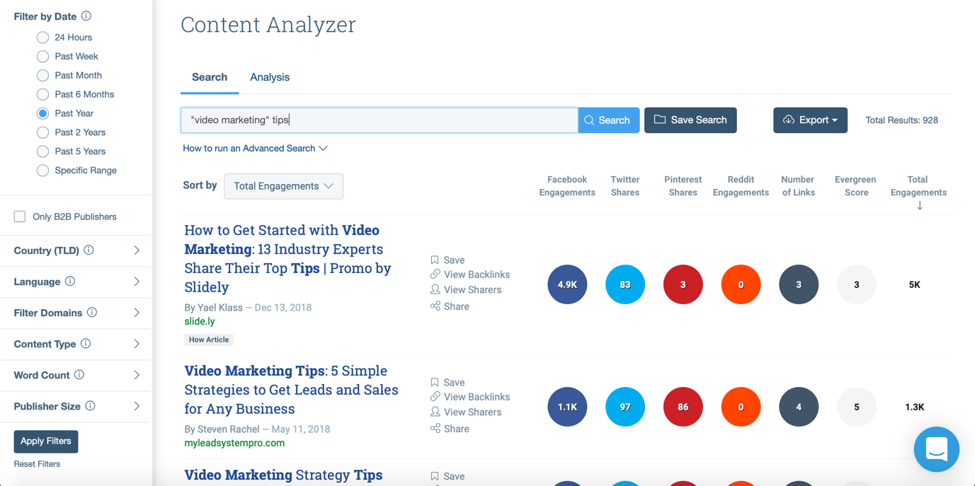 Content Analyzer