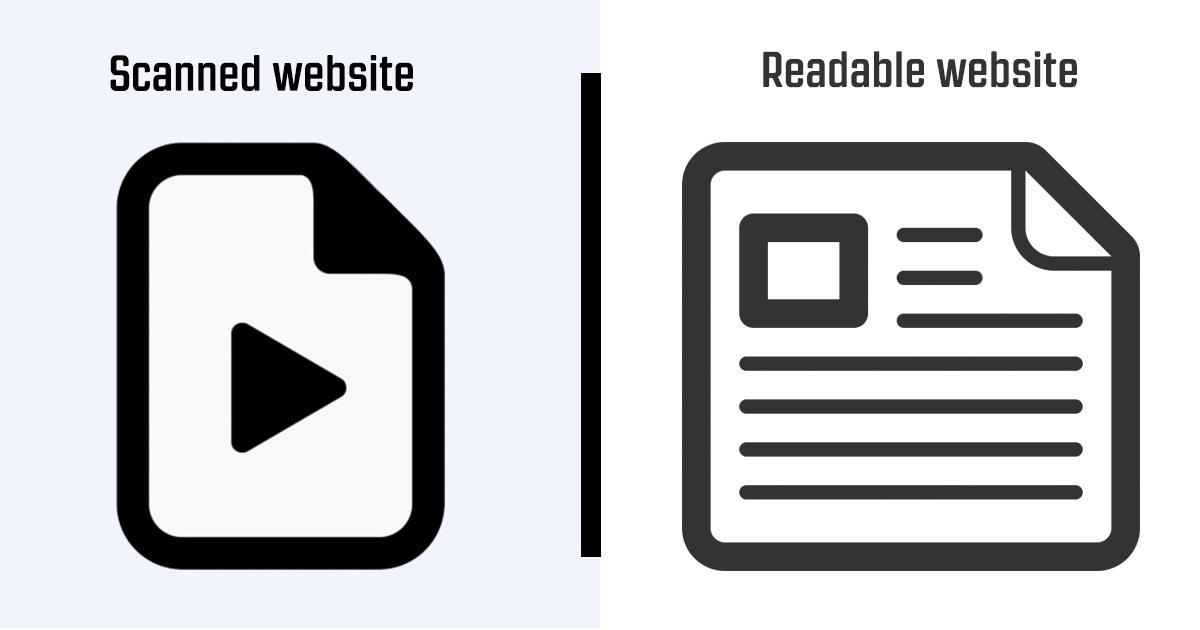 Scanned Websites