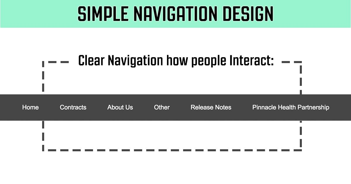Simple Navigation