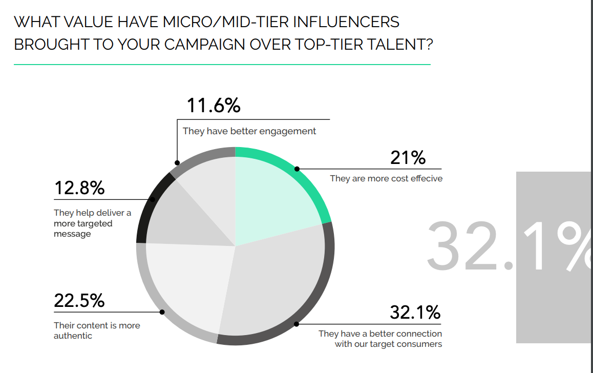 micro/macro influencers