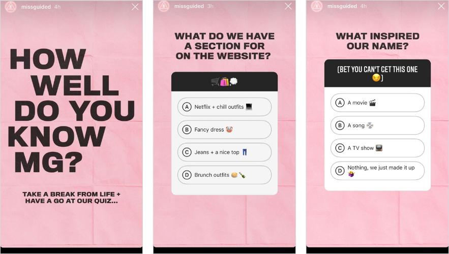 Quiz Stickers
