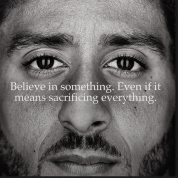 Nike's Colin Kaepernick's Billboard