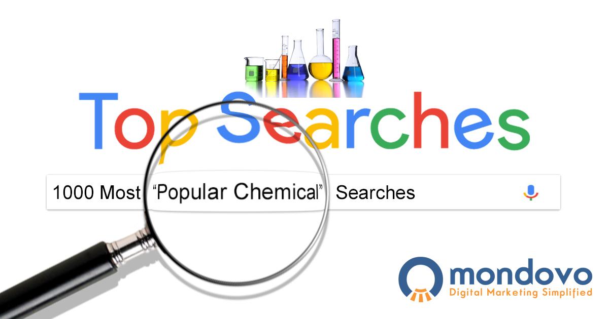 List Of 500 Highly Popular Chemical Keywords Mondovo