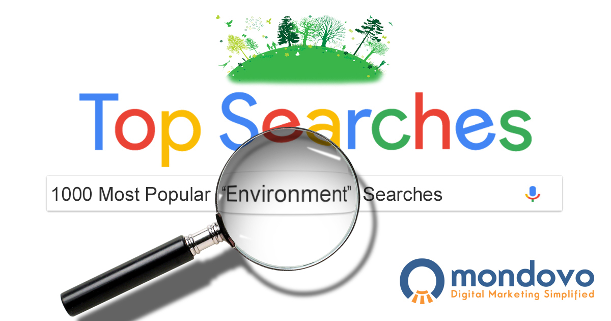 A List Of Best Environmental Keywords Mondovo