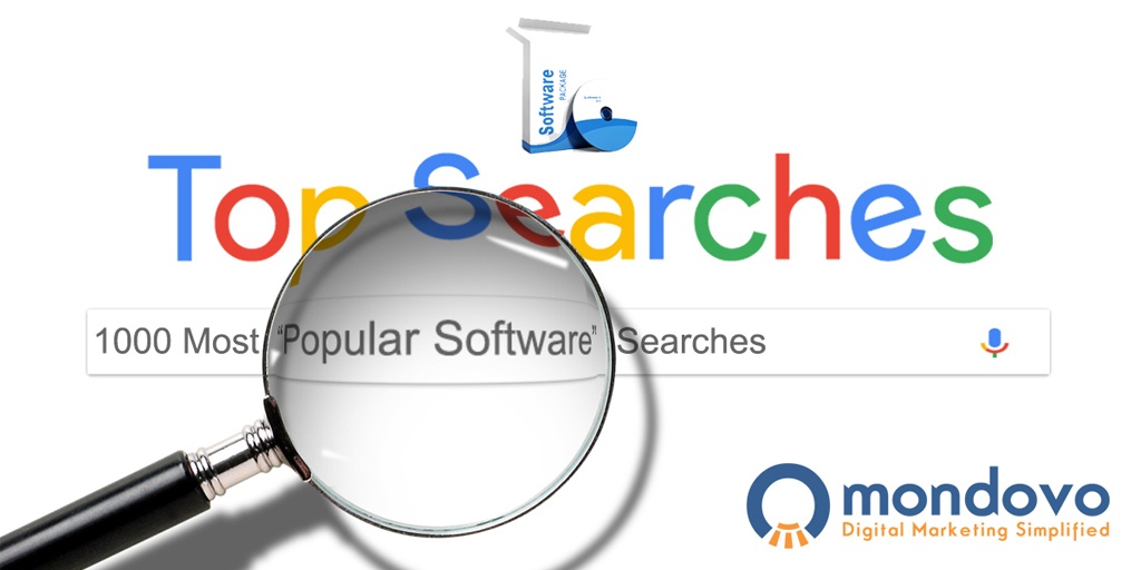 The Top Software Keywords Listed | Mondovo