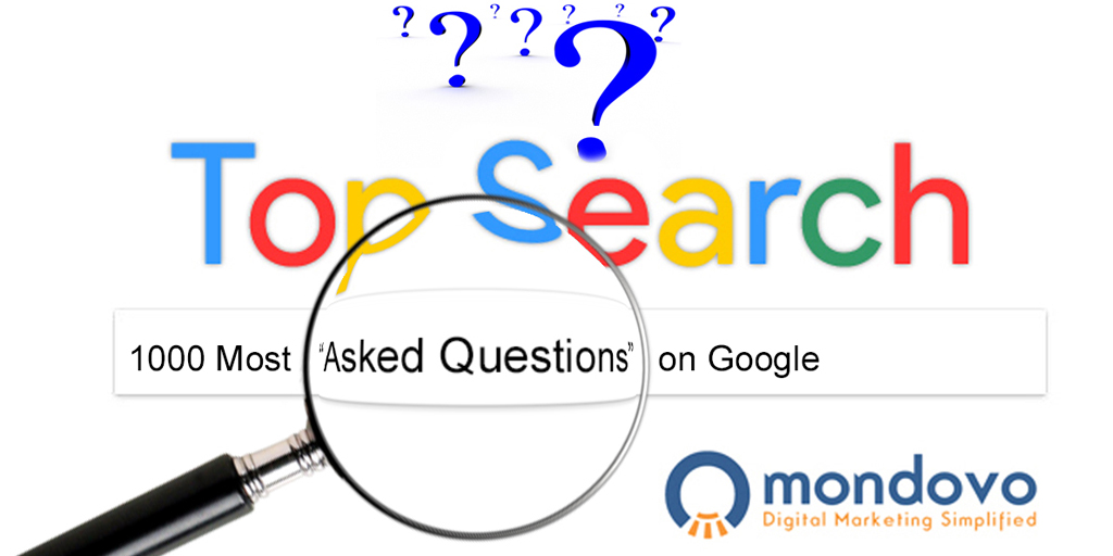 List of the 1000 Most Asked Questions on Google  Popular Questions