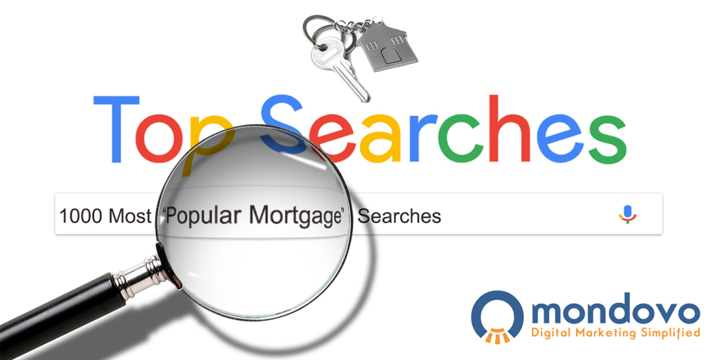 The Most Searched Mortgage Keywords On Google | Mondovo