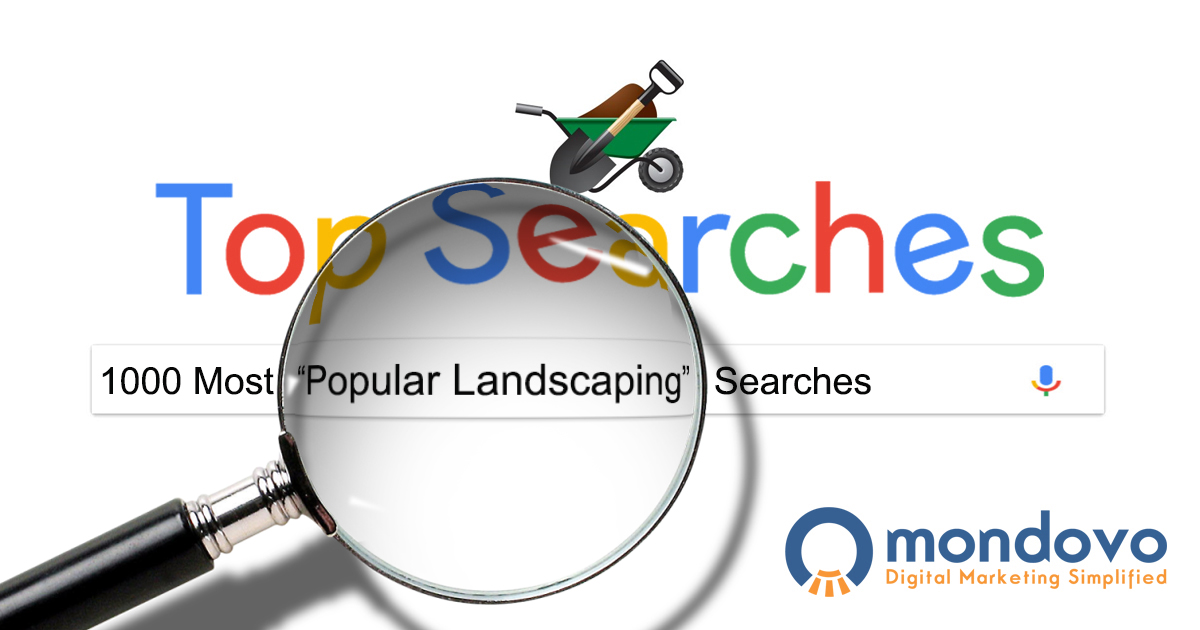 The Most Popular Landscaping Keywords For Seo Mondovo