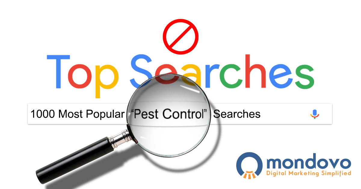 The most searched pest control keywords in google mondovo solutioingenieria Choice Image