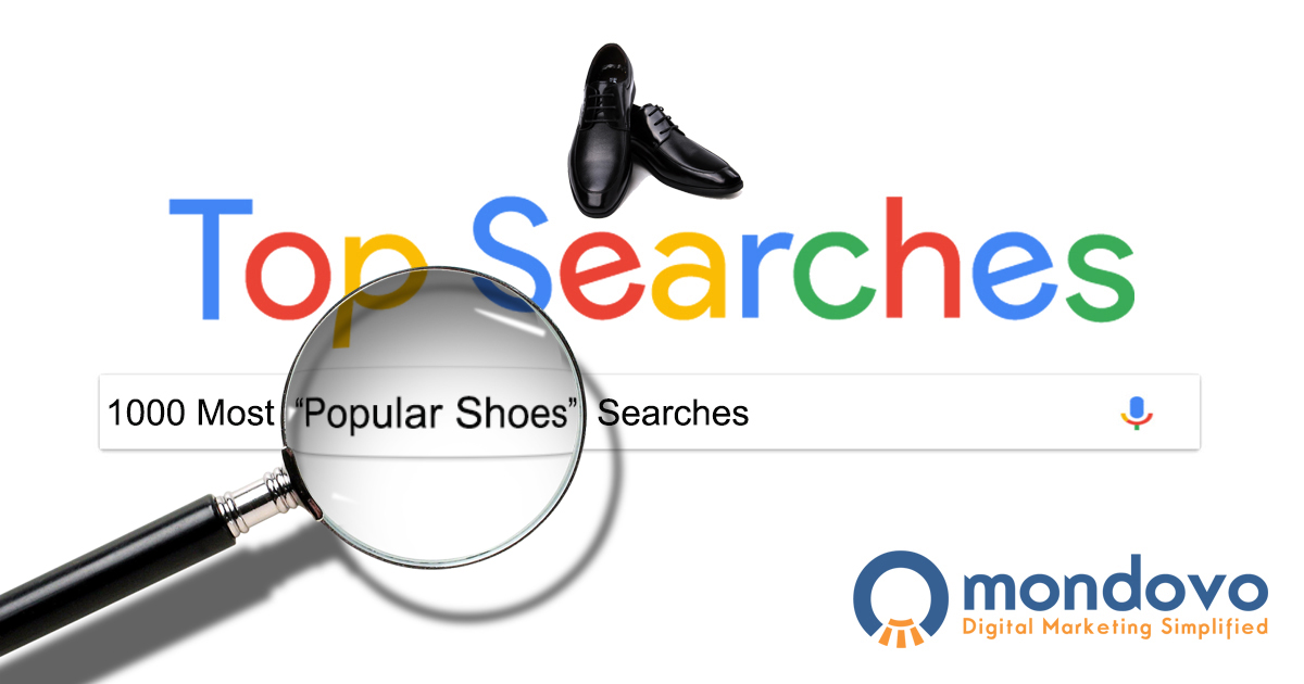 release date 01e56 76a60 The Most Popular Shoes Keywords for SEO   Mondovo