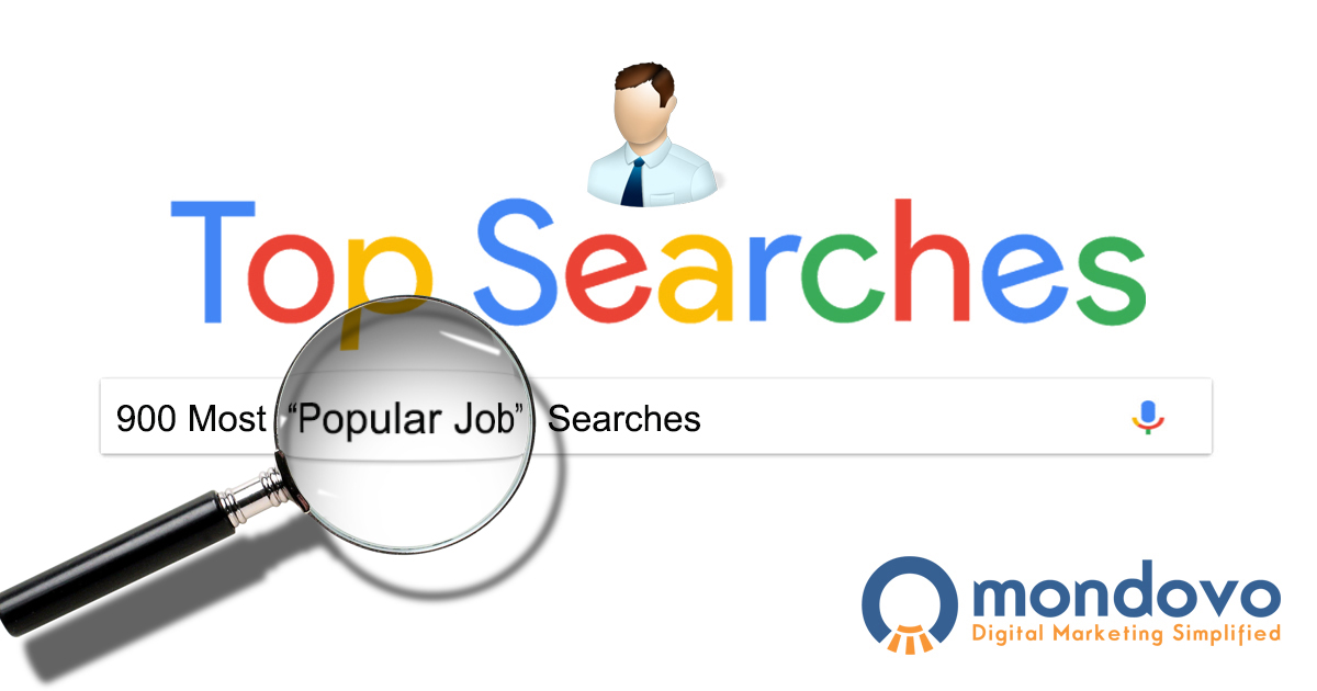 The Most Searched Jobs Keywords in Google | Mondovo